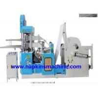 Recycling 2 Deck Tissue Paper Making Machine / Napkin Packing Machine