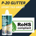 Glitter Epoxy Tile Grout Stain Resistance Anti Mould 24 Months Shelf Life