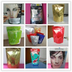 China k Mylar Food Snack Bag Packaging with 100% Recycle Nice Printing on sale