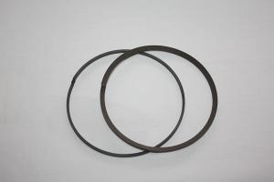 China Carbon fiber filled PTFE baffle ring with low coefficient of friction on sale