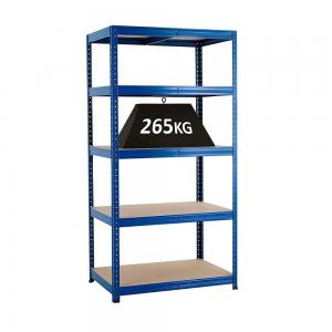 China 4 Layers Stainless Steel Shelves Detachable Concussion Resistance For Warehouse on sale