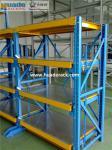 Heavy Duty Drawer Mold Racking Storage System, Hoist Crane mould shelves, Slide Racks / Shelf