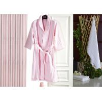 Jacquard Comfortable Hotel Luxury Bath Robes , Women