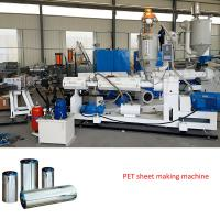 plastic sheet extrusion line PET sheet extruder machine