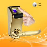 China Zinc Alloy with Chrome Plating Casing Security Password Door Lock on sale