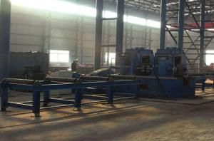 China Multi-Function Hydraulic Straightening Machine , H Beam Production Line on sale