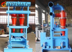 China Drilling mud desander,oilfield drilling fluids desander,desander manufacturer on sale