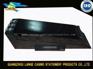 China Electronic 6 Lights Card Dealer Shoe , Macao Automatic Casino Dealing shoe on sale
