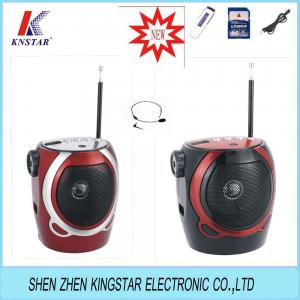 China RX-678REC cheapest gift fm radio with usb/sd player on sale