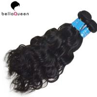 China Natural Black Water Wave 100% Brazilian Human Hair Bundles For Hair Extension on sale