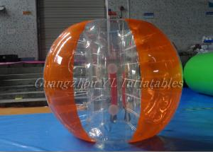 China 1.55m 1.88m Soccer 0.7 TPU Inflatable Body Bumper Ball With Logo on sale