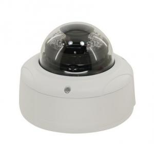 China POE 3 MP Vandal Proof Dome CMOS IP Camera Motion Detection , Ir Range 30m - 40m on sale