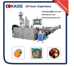 China DB/DI/TWD Flat Series Microduct Bundles Tube Extrusion Machine 2 ways, 4 ways, 7 ways on sale