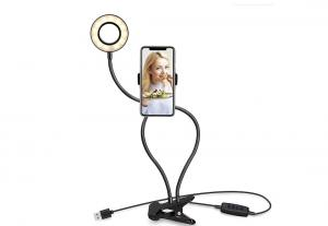 China Selfie Ring Light with Clip Stand & Phone Holder, Led Circle Lights For Mobile Phone on sale