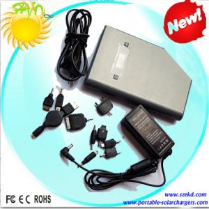 China 3.7V Lithium Ion Battery Portable USB Solar Charger For Laptop on sale