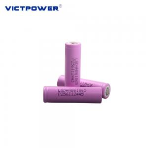 China 3.65V 1500MAH ICR18650 HB6 18650 Rechargeable Battery for Electric Bike Batteries wholesale