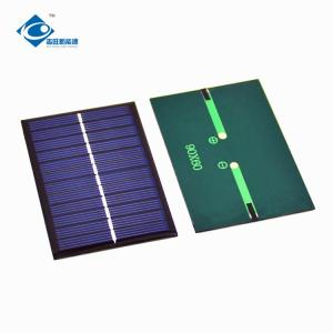 China 0.65W 6V solar panel photovoltaic ZW-9060 Poly Silicon solar cell phone charger on sale