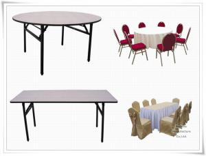 China foldable banquet table on sale