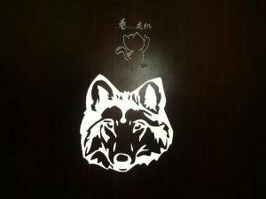 China Colorful Waterproof Custom Vinyl Lettering Decals For Indoor And Outdoor on sale
