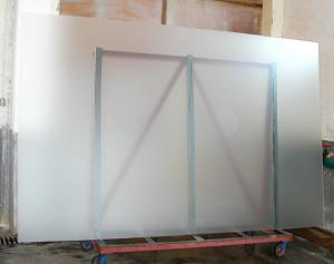 Bathroom Partition Frosted Tempered Glass Panels With Mmmmmm - Glass floor panels for sale