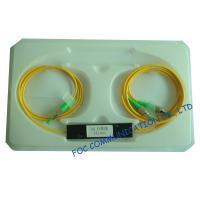 PVC / LSZH Jacket Fiber Optic Cable Splitter 1 x 2 FC / APC Various Coupling Ratio