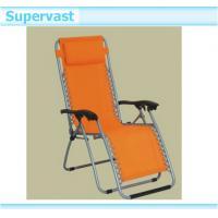 Outdoor Folding Patio Furniture , Portable Zero Gravity Folding Chair Recliners