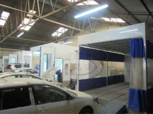 China WLD9000 Alibaba car paint booth/Car Painting Oven/Auto Spraying Oven on sale