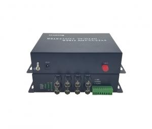 China 8 Channel Fiber Optic Video Converter ,  Video / Data / Audio Fiber Video Converter on sale