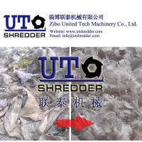 good efficency plastic jumbo bag shredder, plastic bag, package bag shredder / crusher - double shaft shredder