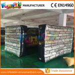 Customized Size Waterproof Inflatable Barricade Paintball Bunker Inflatable Wall Bunker