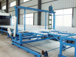 China High Precision Polyurethane Horizontal Foam Cutting Machine for Foam Block on sale