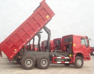 China ZZ3257N3647A 25 Ton Tipper Truck / Sinotruk Howo Dump Truck Optional Color on sale