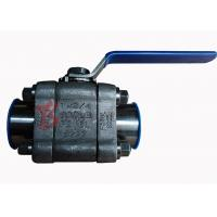 Reduced Bore Soft Seated Ball Valve F316L , 800LB Small Forged Ball Valve