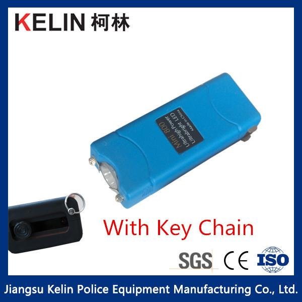 Key Chain Flashlight Taser Self Defense Mini800b With Various