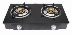 China ф 90 X 90 Cast Iron Double Kitchen Gas Burner JP-G205 for Home, Restaurant on sale