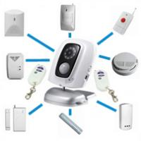 MMS camera video surveillance systems integrated security Mobile GSM home security monitor systems wholesale store