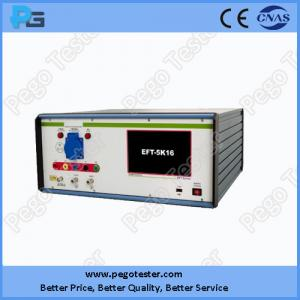 China China EFT-5K16 Electrical Fast Transient Generators with 5KV output voltage and LCD display on sale