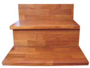 Teak Solid Wood Stair Boards Stair Treads Finger Joints For Home Decoration  Or Constrution China Supplier