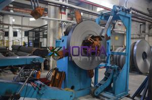 China Automatic Coil Slitting Machine High Precision Speed Max 100 M / Min on sale