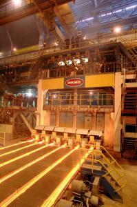 China 150 x 150mm 4 Strands Billet Continuous Casting Machines / R6m Billet Caster on sale