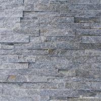 nutural stone Grey Quartzite Cultured Ledge Stone Veneer WSQ-002 6×24 (150×600mm)6×22 (150×550mm) Split Face,Split Face