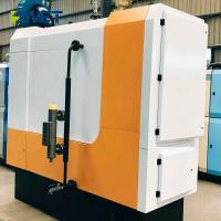 400 Kg Solid Fuel Biomass Steam Boiler Machine 93% Thermal Efficiency