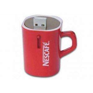 China USB Version 2.0 Cup Shape Promotional Usb Flash Drives With USB-ZIP Mode on sale