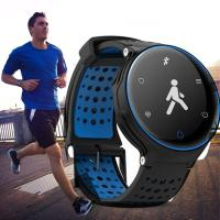 China GPS Running Bluetooth Smart Bracelet Fitness Tracker With Polymer Lithium Battery on sale