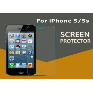 China Le verre frais a gâché la preuve d'éraflure de protecteur d'écran de l'iPhone 5 5S démontable on sale