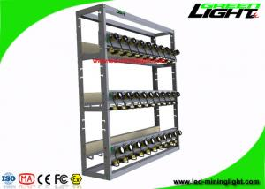 China Coal Mining Light Charging Rack High Safety With 8 Units Per Modular Both Side on sale