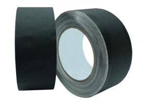 China Matte Non Reflective Gaffers Cloth Tape For Cinematographers 0.27mm on sale