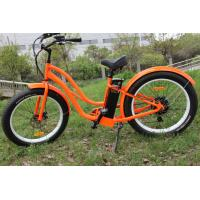 ZOOM Alloy / suspension fat tire Women Mountain Bike Samsung lithium battery operated bicycle