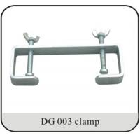 Double Hook DJ Lighting Clamps For Light Duty Events 25mm Tubing