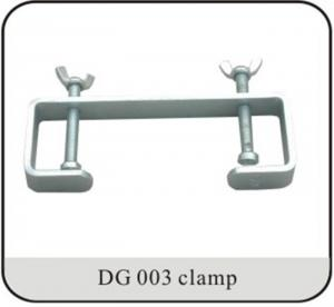 China Double Hook DJ Lighting Clamps For Light Duty Events 25mm Tubing on sale